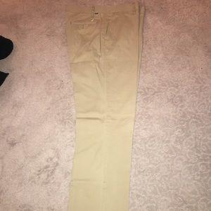 Nautical Straight fit Khaki Pants